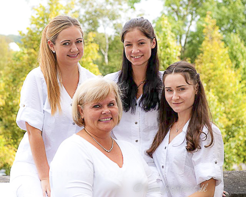 Beauty clinic group portraits