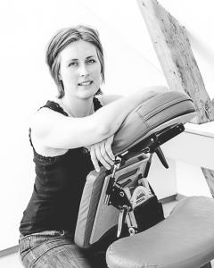 Portrait on location, Massage clinik