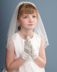 Holly Communion photoshoot