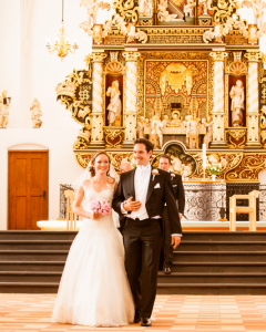 Bryllup i Maribo, Denmark