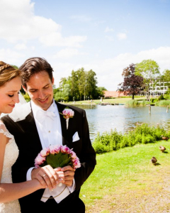 Wedding in Maribo, Denmark