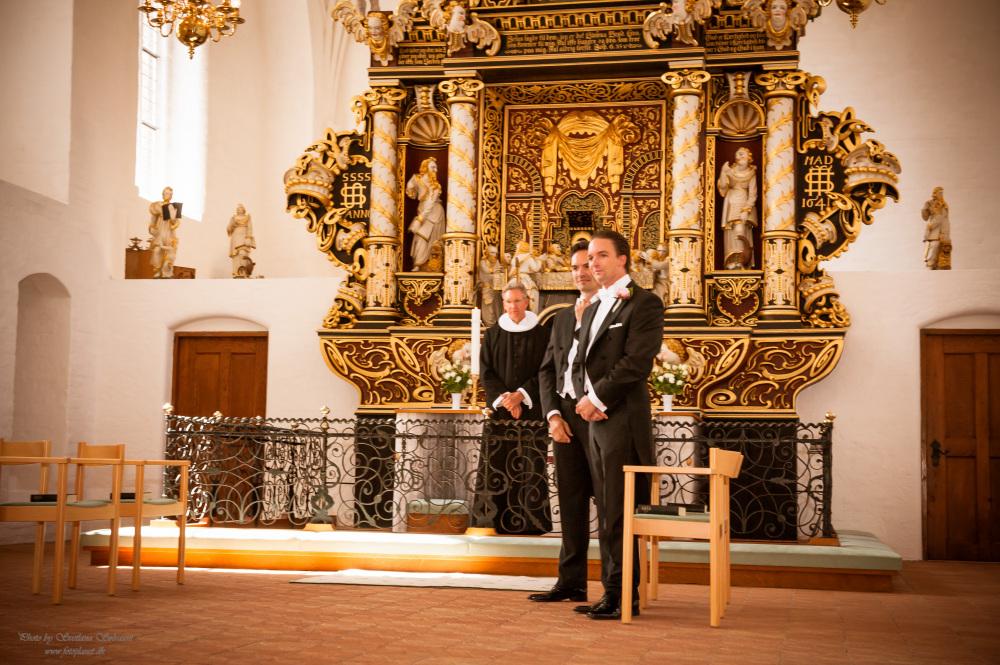 Bryllup i Maribo, Danmark