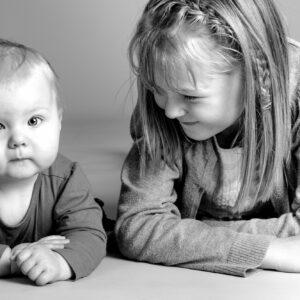 Studio baby portrait by fotoplanet